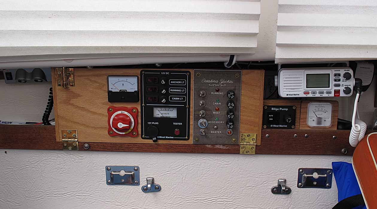 Electrical upgrades anything and everything catalina 22 on catalina 22 wiring diagram Cat Wiring Diagrams Catalina 22 Modifications