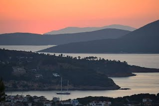 Sunrise Votsi Alonissos Greece